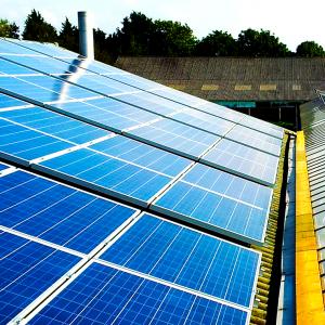 Zakelijke toepassing van zonnepanelen